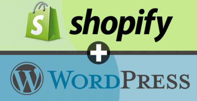 shopify wordpress integration