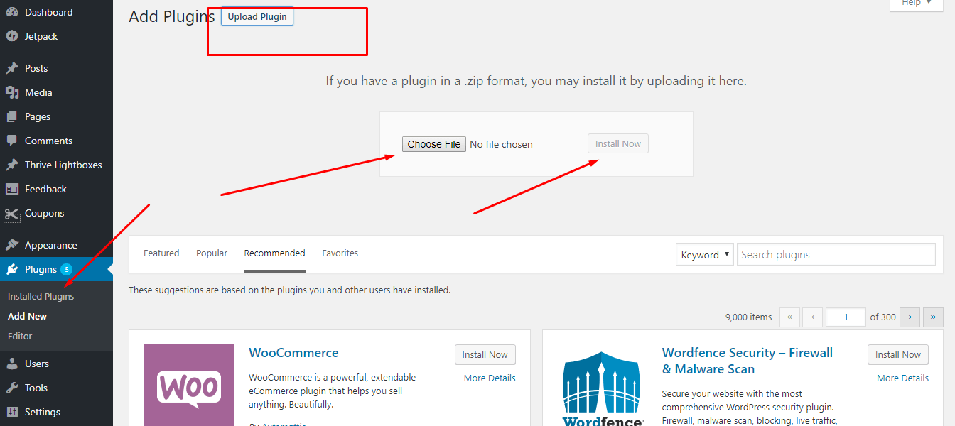 How To Install A Premium WordPress Plugin