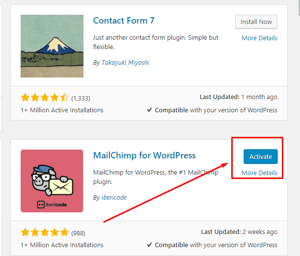 install plugin wordpress