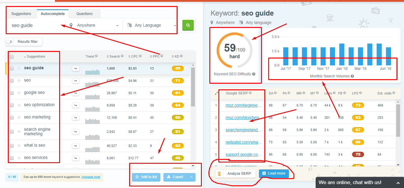 20 Best Keyword Research Tools - Free and Premium [2019 Reviews]