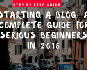 How To Start A Blog WordPress