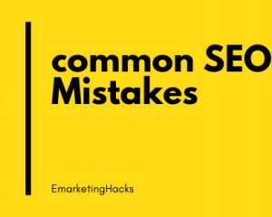 common SEO MistakesCase