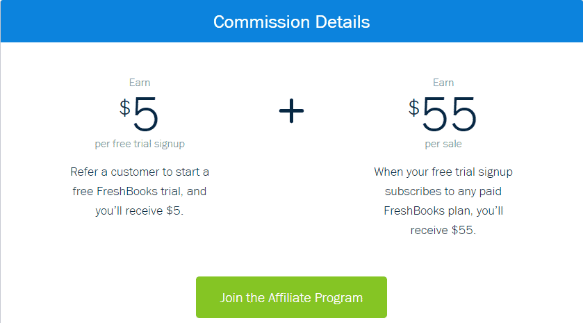 freshbooks affiliate referral program