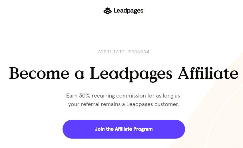 leadpages affiliates