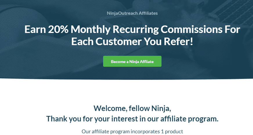 ninja outreach affiliate