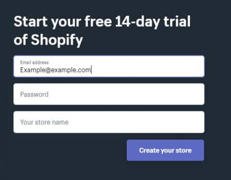 enter your password and store name