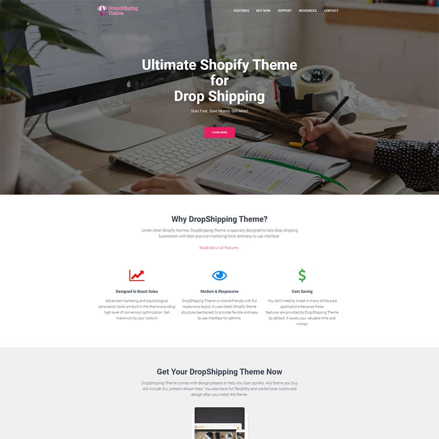 Shopify Theme for DropShipping