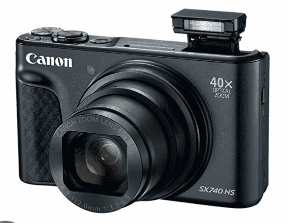 Canon PowerShot SX740 Digital Camera for travel blogger