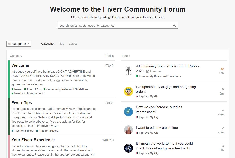 Fiverr Forum