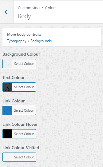Color GeneratePress Pro Version 2