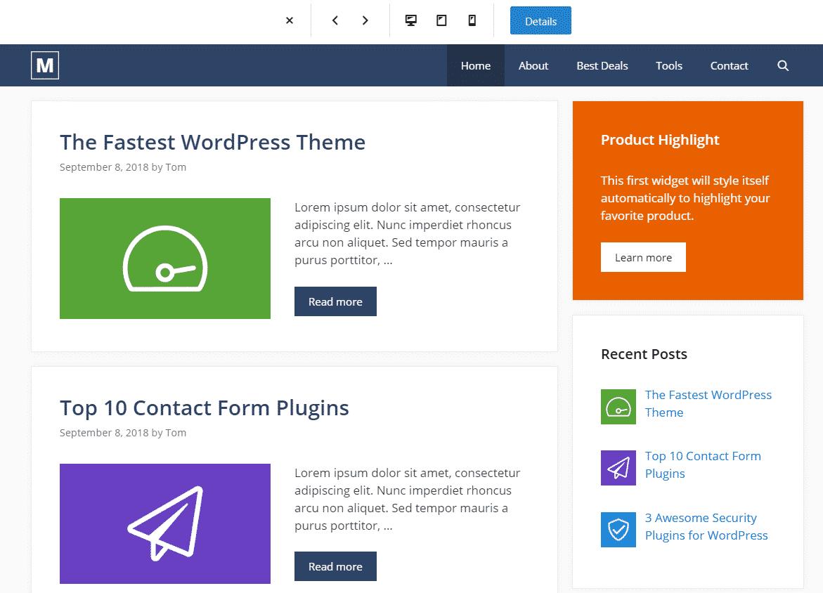 GeneratePress Site Library 2