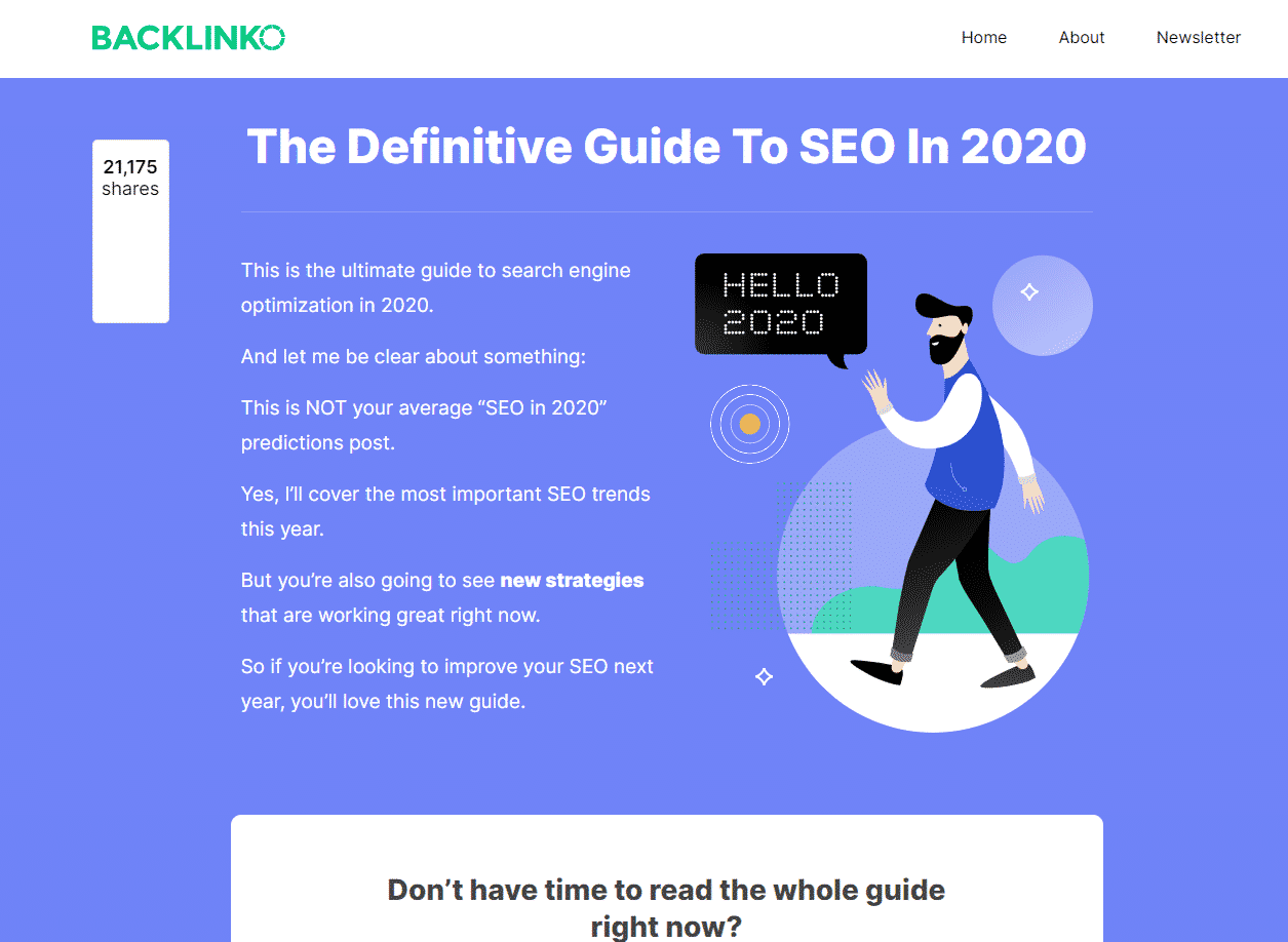 SEO Guide Example