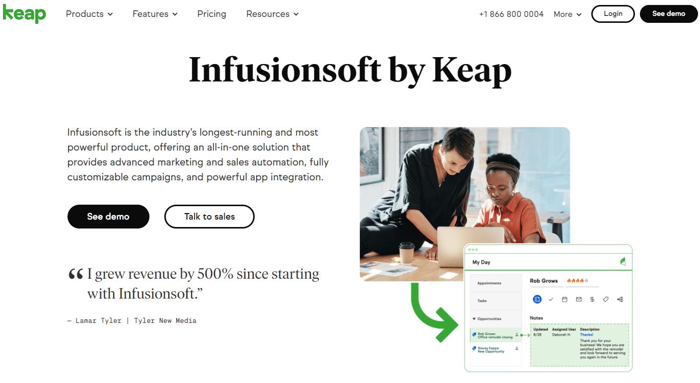 Infusionsoft By Keap