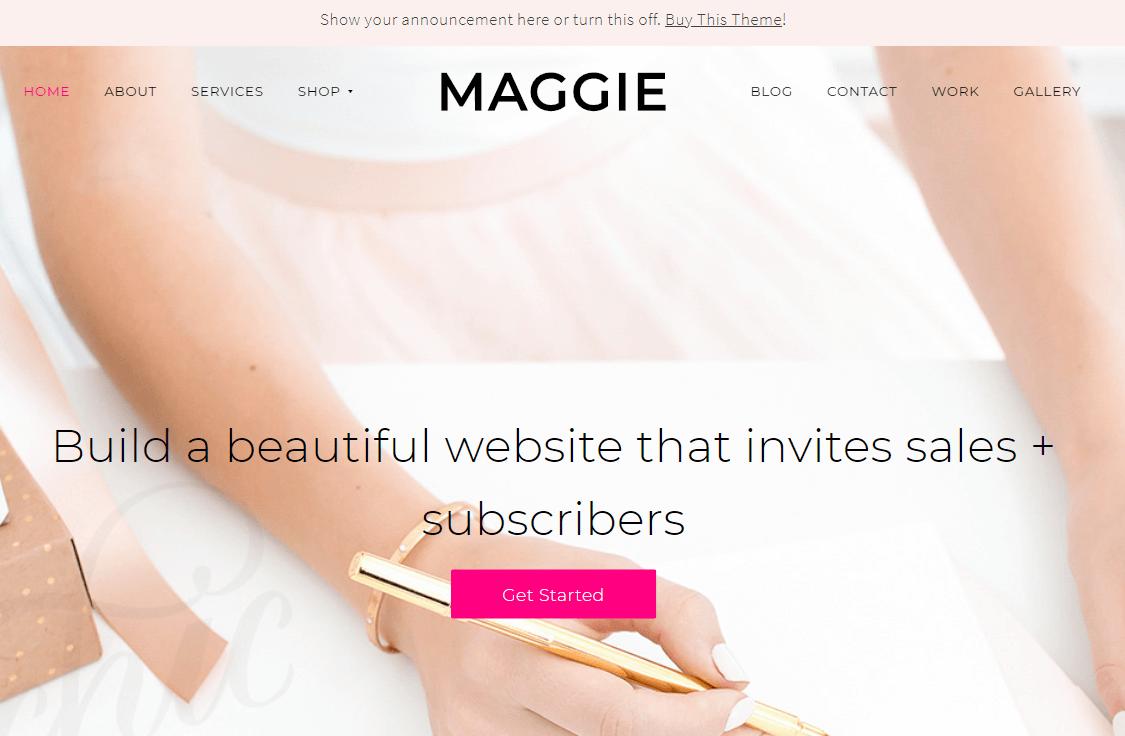 Maggie Theme