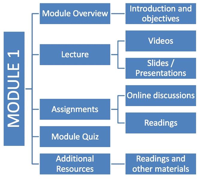 Online course Structure (1)