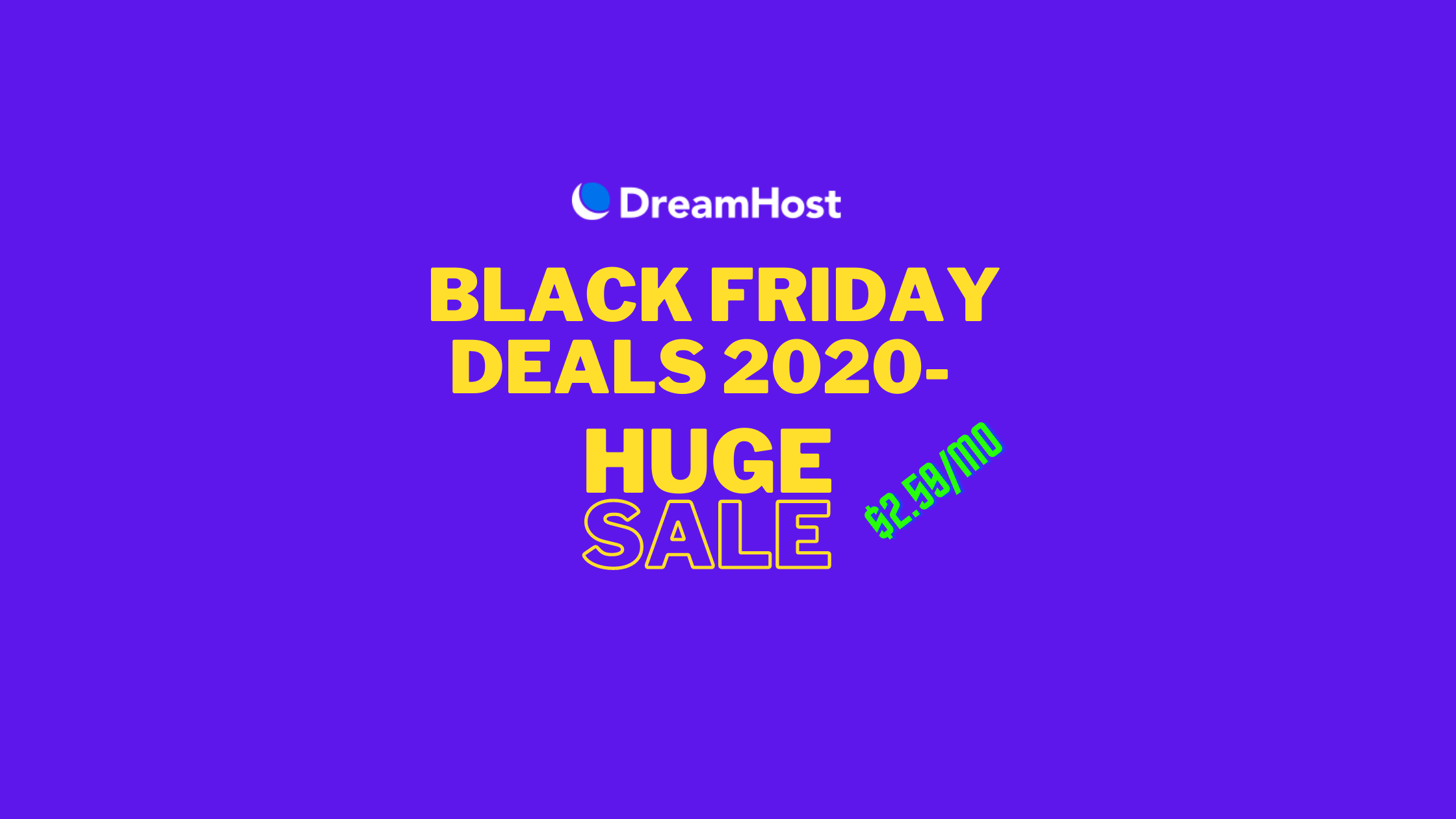 DreamHost Black Friday 6