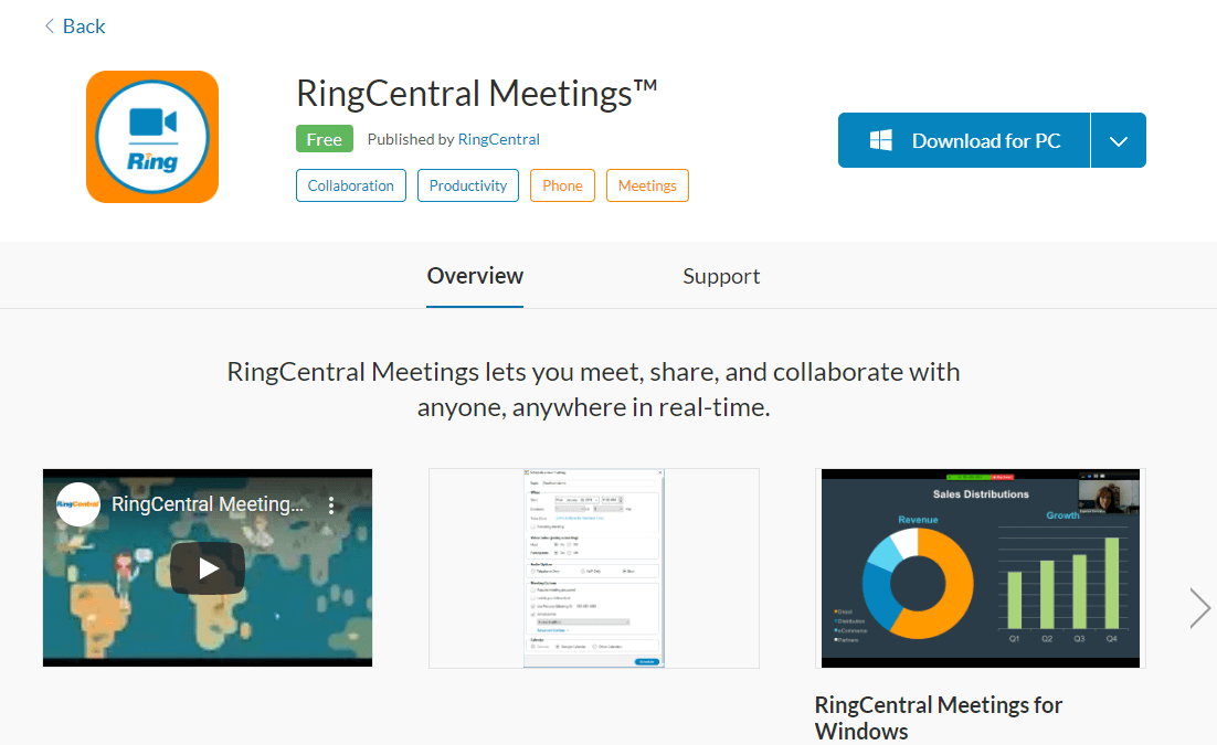 RingCentral Meetings 5