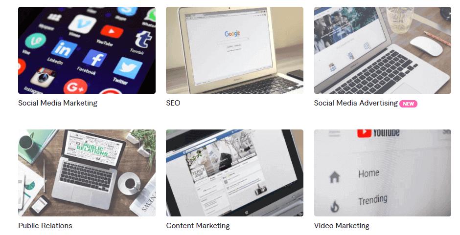 Social media Fiverr 2021