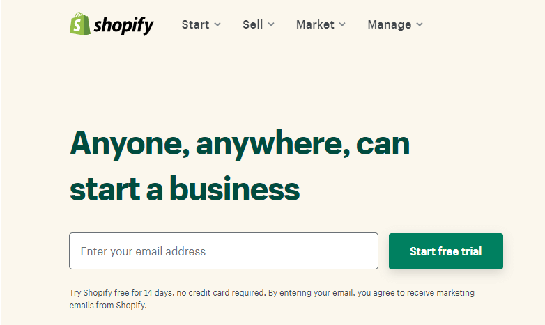 Shopify for dropshipping (1)
