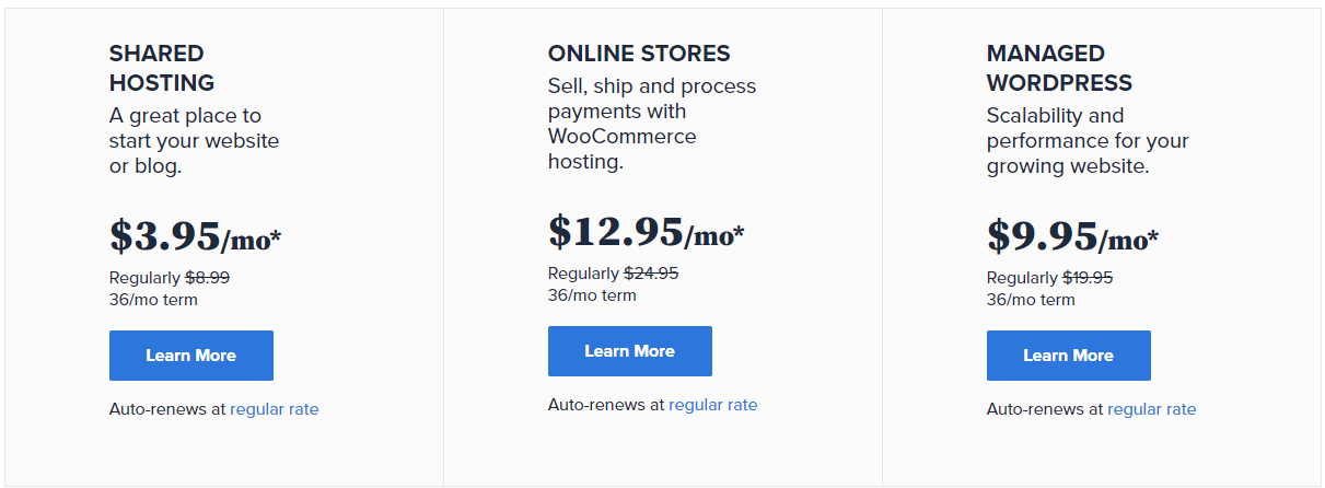 Bluehost Pricing 2021 (1)