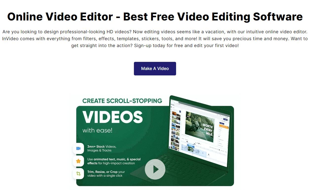InVideo video Editor