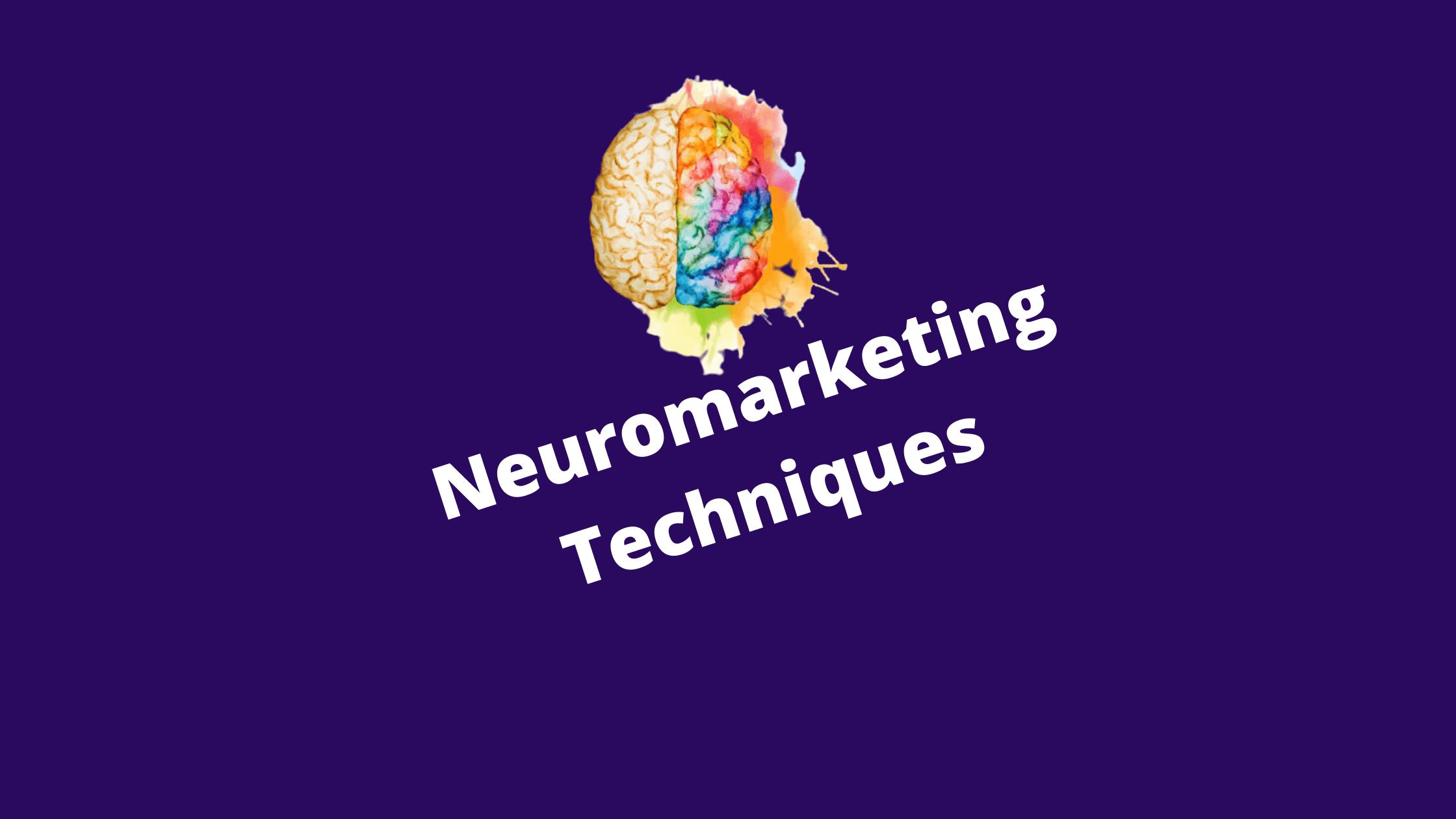 neuromarketing techniques