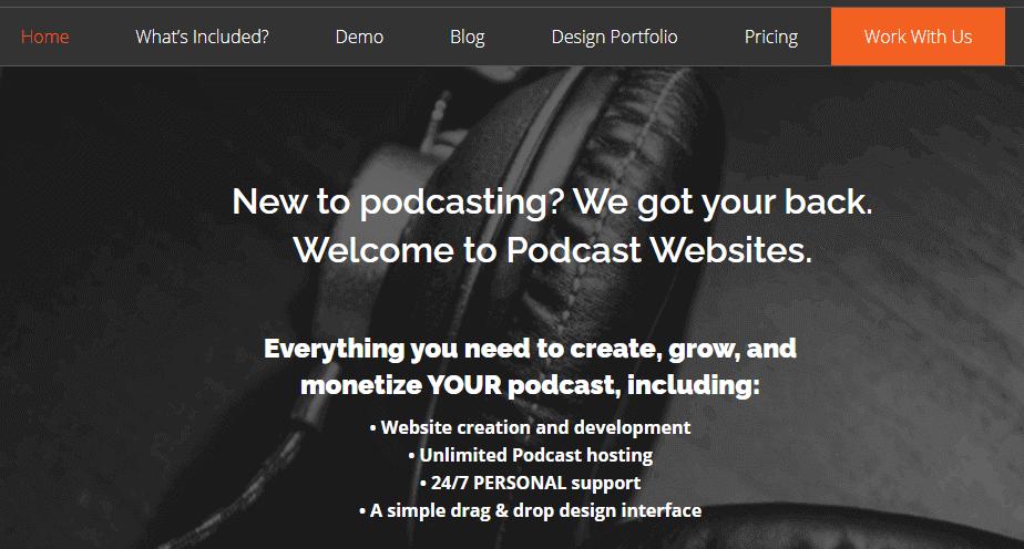 Podcast Websites for WordPress
