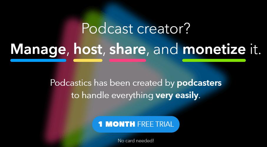 Podcastics review