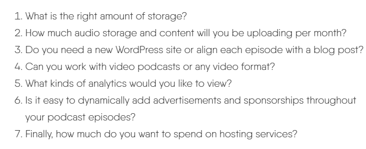 factor to consder while choosing a podcast hosting (1) (1)