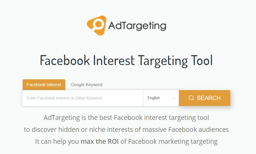 AdTargeting Facebook Interest Targeting Tool